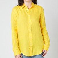 Polo Ralph Lauren Women's Logo Relaxed Shirt - University Yellow - S