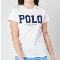 Polo Ralph Lauren Women's Polo Logo T-Shirt - White - L