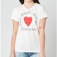 Polo Ralph Lauren Women's Heart T-Shirt - Nevis - M