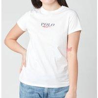 Polo Ralph Lauren Women's Small Logo Polo T-Shirt - White - XS