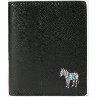 PS Paul Smith Men's Zebra Logo Slim Card Holder - Black