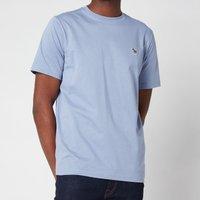 PS Paul Smith Men's Regular Fit Zebra Logo Crewneck T-Shirt - Blue - L