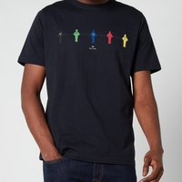 PS Paul Smith Men's Regular Fit Table Football T-Shirt - Dark Navy - XXL