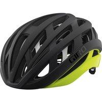 Giro Helios Spherical Road Helmet - S/51-55cm - Matte Black/Highlight