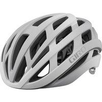 Giro Helios Spherical Road Helmet - S/51-55cm - Matte White/Silver