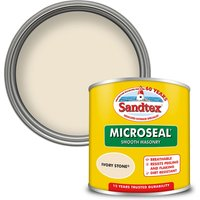Sandtex Ultra Smooth Masonry Paint - Ivory Stone - 150ml