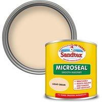 Sandtex Ultra Smooth Masonry Paint - Light Cream - 150ml