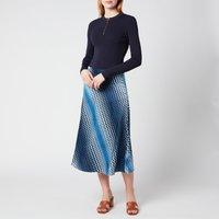 Ted Baker Womens Ionaaa Mockable Slip Dress - Navy - UK 6