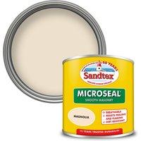 Sandtex Ultra Smooth Masonry Paint - Magnolia - 150ml
