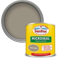 Sandtex Ultra Smooth Masonry Paint - Dark Stone - 150ml