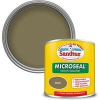 Sandtex Ultra Smooth Masonry Paint - Olive - 150ml