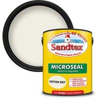 Sandtex Ultra Smooth Masonry Paint - Cotton Belt - 5L