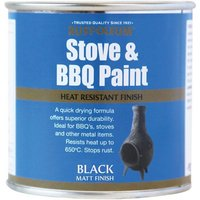 Rustoleum Stove and BBQ Black - 250ml