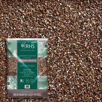 RHS Horticultural Washed Gravel 10mm Quartzite Grit - Large