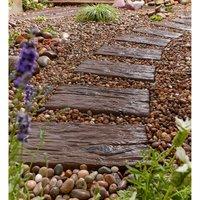 Stylish Stone Logstone Sleeper Paving - 450 x 225mm (Full Pa