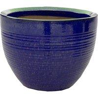 Helix Egg Garden Planter in Blue - 31cm