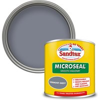 Sandtex Ultra Smooth Masonry Paint - Vermont Grey - 150ml