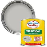 Sandtex Ultra Smooth Masonry Paint - Light Grey - 150ml