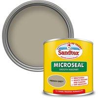 Sandtex Ultra Smooth Masonry Paint - French Grey - 150ml
