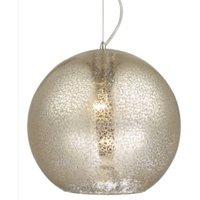 Mercury Pendant Ceiling Light - Chrome