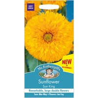 Mr. Fothergills Sunflower Sun King Improved Seeds