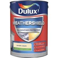 Dulux Weathershield All Weather Smooth Masonry Paint - Corni