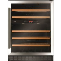 CDA FWC604SS 60cm Wide Multi Temperature Wine Cooler
