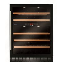 CDA FWC604BL 60cm Multi Temperature Wine Cooler