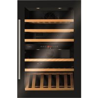 CDA FWV902BL 90cm Tall Multi Temperature Integrated Wine Coo