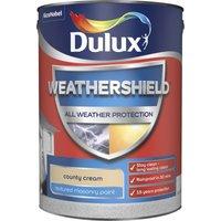 Dulux Weathershield All Weather Textured Masonry Paint - Cou