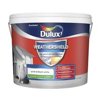 Dulux Weathershield All Weather Smooth Masonry Paint - Pure