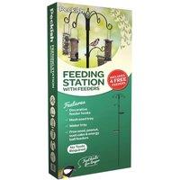 Peckish Wild Bird Feeding Stations with 4 Feeders