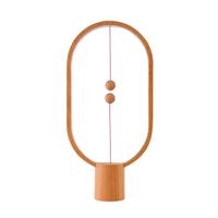 Heng Eclipse USB Desk Lamp - Light Wood