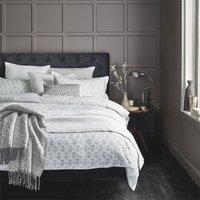Murmur Tulip Duvet Cover Set - King - Cloud Grey