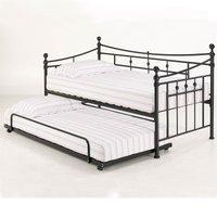 Olivia Trundle Bed - Black