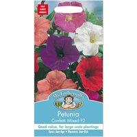 Mr. Fothergills Petunia Confetti Mixed F2 Seeds