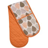 Orange Leaf Double Oven Glove