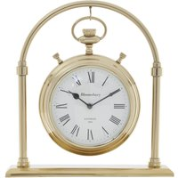 Hampstead Mantel Clock - Gold
