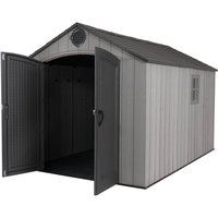 Lifetime 8x12.5 ft Rough Cut Outdoor Storage Shed