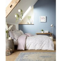 Sanderson Home Everly Duvet Cover Set - Double - Heather