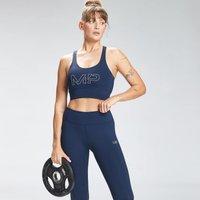 MP Women's Repeat Mark Graphic Training Sports Bra - Petrol blue  - XL