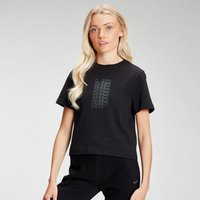 MP Women's Repeat MP Crop T-Shirt - Black - M
