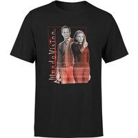 WandaVision Men's T-Shirt - Black - XS - Black