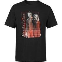 WandaVision Mens T-Shirt - Black - XL - Black