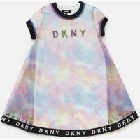 DKNY Girls' 2-in-1 T-Shirt Dress - Unique - 8 Years