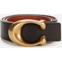 Coach Women's 32mm C Reversible Belt - B4/Black 1941 Saddle - S