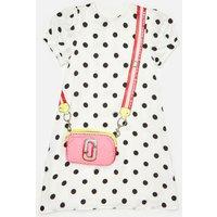 Little Marc Jacobs Girls' Spotty Snapshot Dress - White - 6 Years