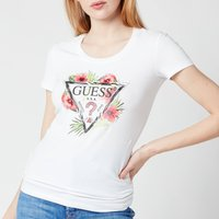 Guess Women's Short Sleeve Rebecca T-Shirt - True White - S