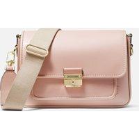 MICHAEL Michael Kors Womens Bradshaw Medium Messenger Bag - Soft Pink