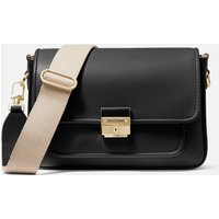 MICHAEL Michael Kors Womens Bradshaw Medium Messenger Bag - Black